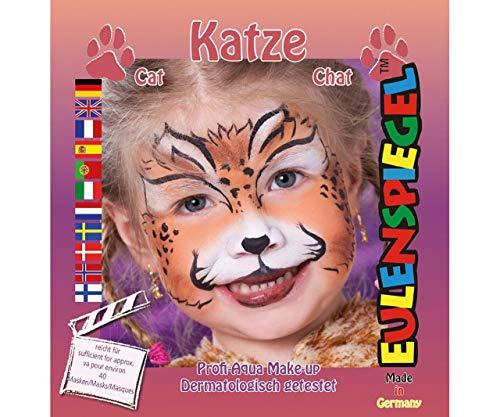 Festlegen Von Farben Für Face - Katze, Eulenspiegel, EU-204177