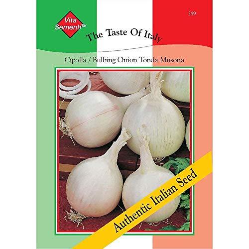 CROSO HOCH KEIMUNG Seeds Nicht NUR Pflanzen: Thompson & Morgan den Geschmack von Italien - Zwiebel Tonda Musona - 600 Samen