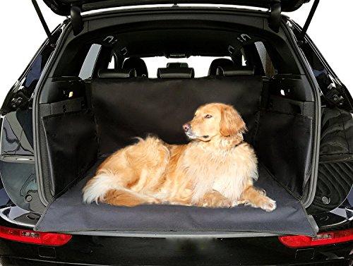 autooptimierer Universal Kofferraumschutz Wasserdicht Schwarz Kofferraumdecke Hunde Auto Autoschondecke Kofferraum Klett