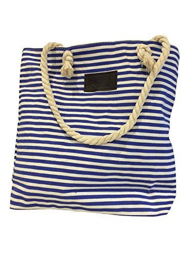 bag-smart-strisce-nautico-a-portata-di-mano-stile-tote-con-la-corda-maniglie-blu