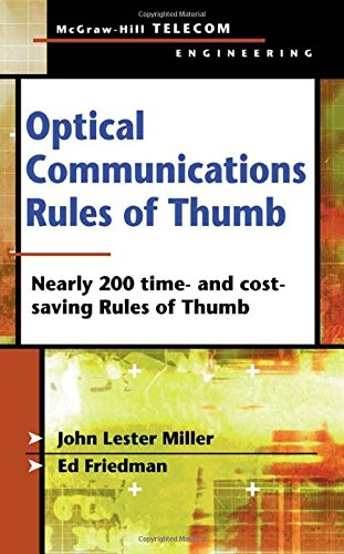 Optical Communications Rules of Thumb (Telecom Engineering)