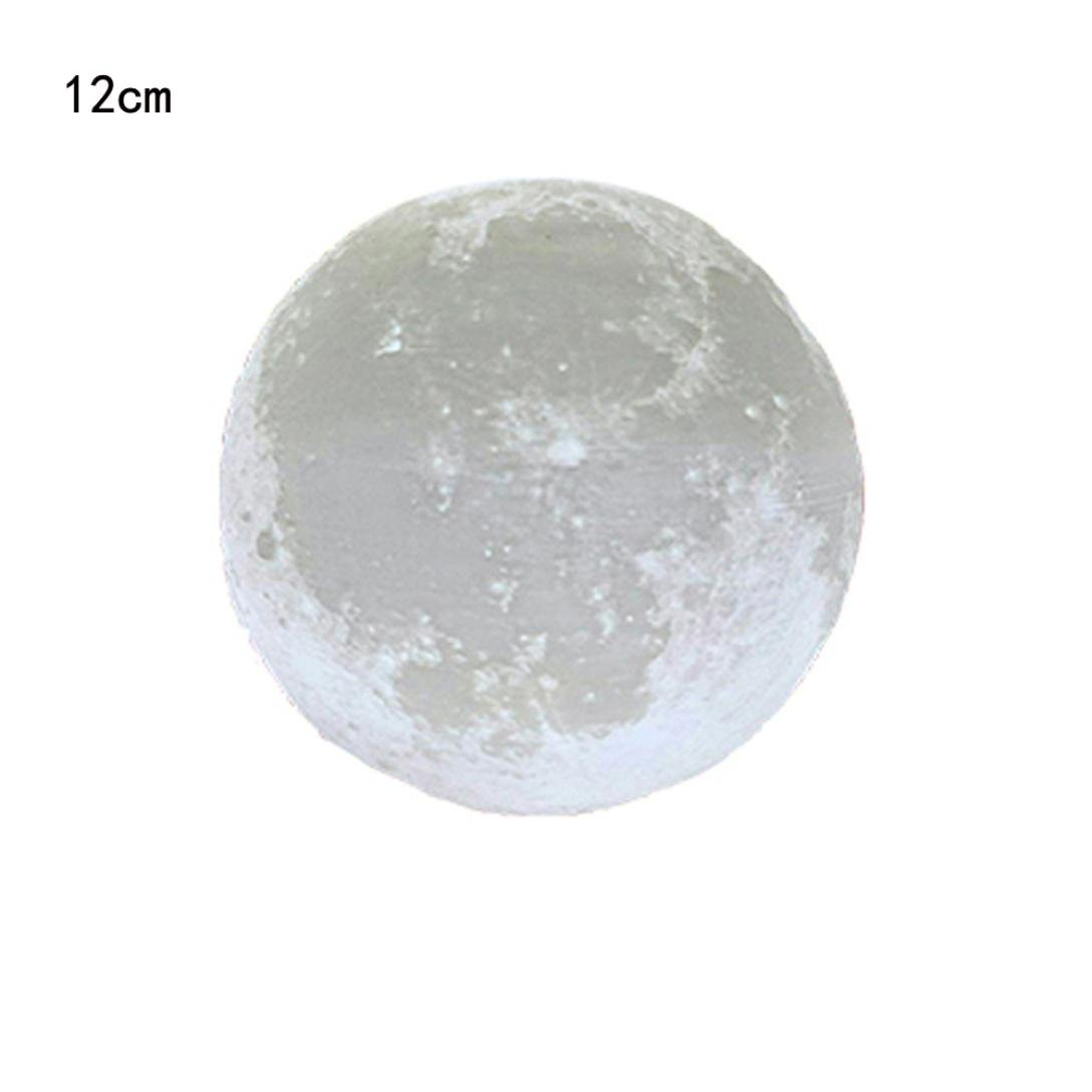 Gaddrt Full Moon lampada LED 3D Night touch Sensor camera da letto di notte calda luce Moon Light di