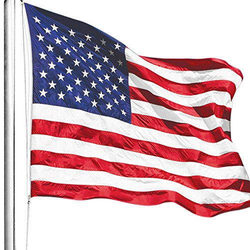 c694da81f85b Anley EverStrong Series American US Flag 3x5 Foot Heavy Duty Nylon - Embroidered  Stars and Sewn