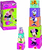 Minnie Mouse - Cubos apilables, diseño Minnie (Disney 46253)