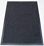 Machine Washable Grey Black Heavy Quality Non Slip Hard Wearing Barrier Mat. Available