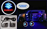 #4: Premium Quality Logo LED Shadow Light for Suzuki (Set of 2)
