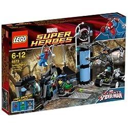 LEGO Súper Héroes - La Trampa de Spiderman para el Doctor Octopus - 6873