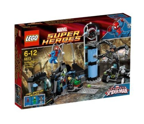 LEGO Súper Héroes - Spiderman La Trampa Spiderman