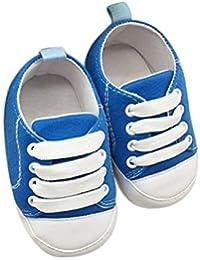 UOMOGO Scarpine neonato Scarpine Neonato in Tela- Scarpe Primi Passi - Scarpette  Neonato - Scarpe 9111baa4c46
