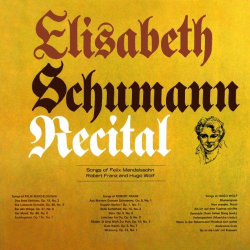 Elisabeth Schumann Recital
