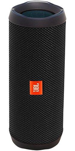 JBL FLIP 4 Ein voll ausgestatteter, wasserdichter und mobiler Bluetooth-Lautsprecher mit überraschend kraftvollem Sound Schwarz