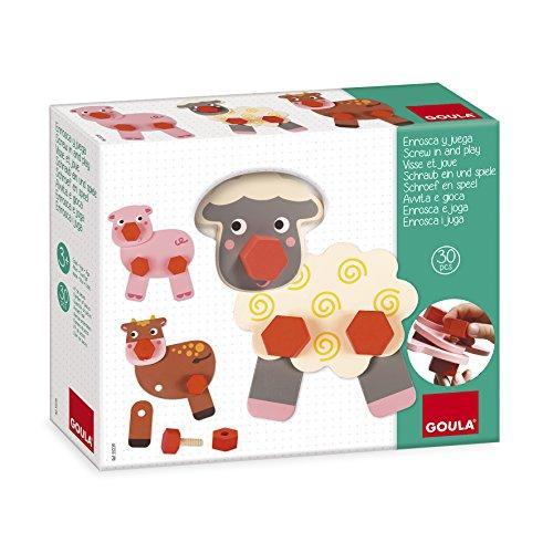 Goula - 55239 - Visse et joue animaux ferme