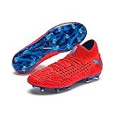 Puma Future 19.1 Netfit FG/AG, Zapatillas de Fútbol para Hombre, Rojo (Red Blast-Bleu Azur), 43 EU