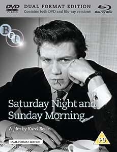 Saturday Night and Sunday Morning (DVD +Blu-ray) [1960]
