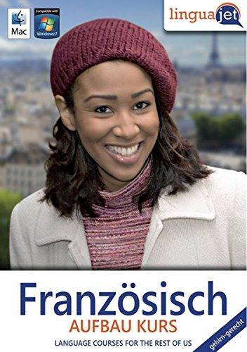 Französisch gehirn-gerecht, Aufbau-Kurs, CD-ROM Gehirn-gerecht Französisch lernen, Computerkurs Linguajet. 49 Min.