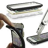 Urcover Housse Coque Tactile Complet | LG G3 | Plastique Blanc | Étui Téléphone Portable Sac Protection Écran Armor...