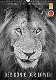 FineArt in Black and White: Der König der Löwen (Wandkalender 2018 DIN A3 hoch): Für diesen wunderschönen Kalender hat Ingo Gerlach besten Löwenbilder ... [Kalender] [Apr 01, 2017] Gerlach, Ingo