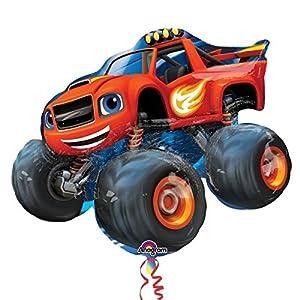Blaze y los Monster Machines - Globo de foil en forma de coche (Amscan 3239301)
