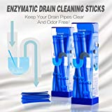 liebhome sani Sticks/Drain Sticks abfuss Pulitore di incenso/tiene tubi di scarico pulito e privo di Ostruzione Pack con 12Bastoncini Blu, Blau, 2 Pack