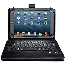 iClever® Tastiera Universale Bluetooth con Custodia in Cuoio PU per