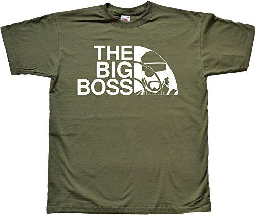 Teamzad The Big Boss Funny Parody Gamer Vert T Shirt d'occasion  Livré partout en Belgique