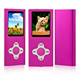 from ES Traders MP3 Player Music Media ES Traders 8GB With Radio, Voice Recorder, Games 4th Generation Model 8GB MP3-Pink