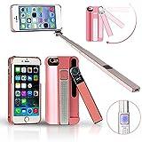 Indigi ® Selfie Stick Pro 2-In-1, estensibile/Wireless, con Bluetooth, monopiede, Selfie Stick e - Best Reviews Guide