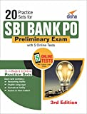 20 Practice Sets for SBI Bank PO Preliminary Exam with 5 Online Tests 3rd Edition