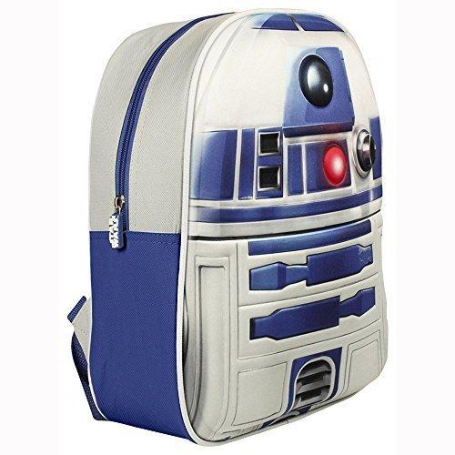 Star Wars 3D Storm Trooper Junior Rucksack - R2D2, (Hat R2d2)
