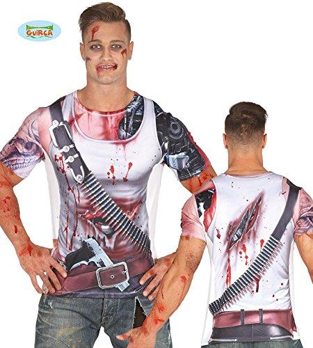 Imagen de camiseta disfraz de robot