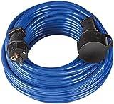 Brennenstuhl Bremaxx Verlängerungskabel IP44 10m blau, 1169810