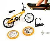 KT Stunt Bike & Finger Skateboard avec Accessoires