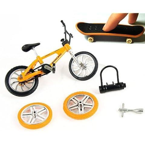 Stunt Bike & Finger monopatín conjunto con los accesorios