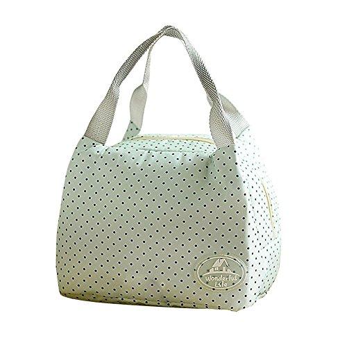 tangbasi Notebook Picknick Tasche-Hand Taschen Picknick Thermohose grün