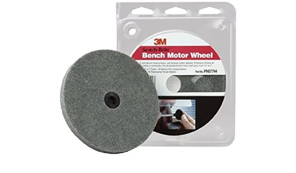 Awesome Scotch Brite Tm Bench Motor Wheel 07744 4500 Rpm 6 Ncnpc Chair Design For Home Ncnpcorg