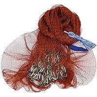 WEATLY Red Que Lanza de la Mano Que Cae del Acero con la Red de Pesca Pendiente del Acero Inoxidable (Size : 3.6mH)