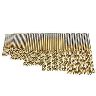 GS 50Mini Twist Bohrer Set HSS High Stahl Titanium Beschichtete Bohrer Holz Power Tool 1/1,5/2/2,5/3mm für Metall