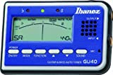 Ibanez GU40-BL Chromatic Tuner Guitar & Bass blue