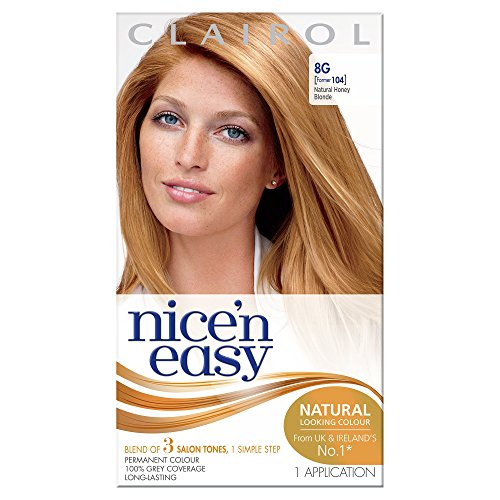 Clairol Nice'n'Easy Hair Colourant 104 Natural Honey Blonde