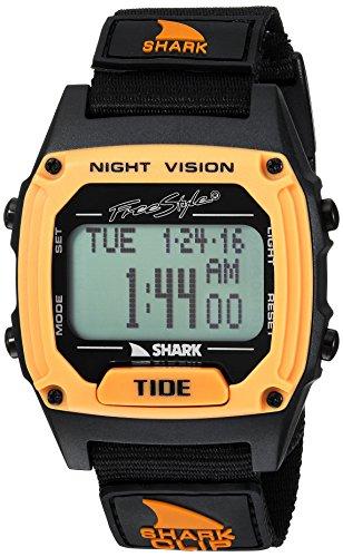 freestyle 'Marea' quarzo plastica e nylon orologio sportivo, colore: Nero (Model: 10027114)