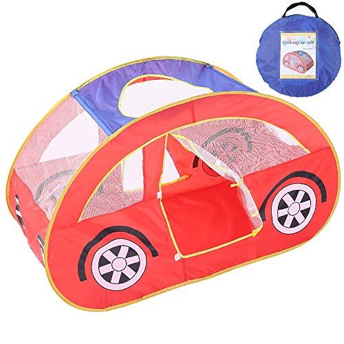 lt, Pop Up Indoor und Outdoor Cute Car Play House Castle Tent Toys als bestes Geburtstagsgeschenk für Kids Boy Girls Toddler Kleinkind ()