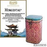 Erlesene Teedose mit 250g Morgentau - Grüntee von Ronnefeldt