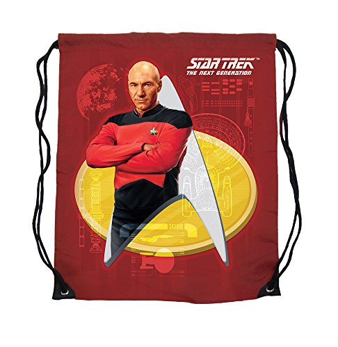 Star Trek Sacchetta Captain Picard - Sport Sacchetta