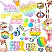 30 pcs Sensory Fidget Toys Set cheap ,Anxiety Relief Fidget Toys Set,Cheap Fidget Toy Kit for Kid stress,Fun S