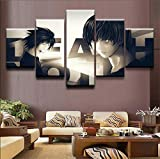 Uhgkt Dipinti su Tela Quadro su Tela Quadro Decor Quadro 5 Pezzi Dipinti Leggeri per Soggiorno o Camera da Letto Wall Art Poster