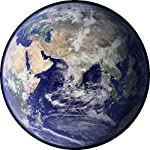 Stamp Press 24 x 40mm Round Planet Earth Stickers (SK00001777)