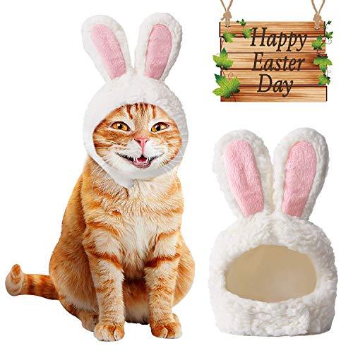 MEISO, Costume da Pasquale, Taglia Regolabile, con Orecchie da Coniglio, Ideale Come Regalo per Cosplay di Pasqua