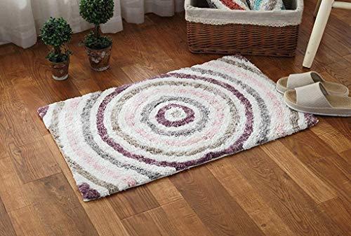 carpet Waschbar Waschbar Haltbar Teppich Super-Qualität Soft Lounge Modern Schlafzimmer Shop Couchtisch Schlafsofa Home Wohnzimmer Slip Nicht Reizende Teppich Home Daily, Lila -