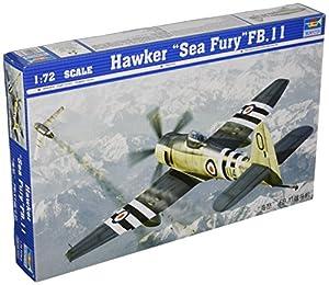 Trumpeter 01631 - Maqueta de avión Hawker Sea Fury FB.11