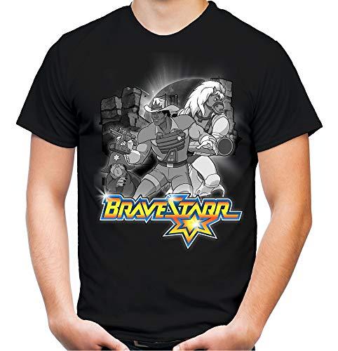 nd Herren T-Shirt | Zeichentrick 80er Comic Kult Thirty-Thirty | M2 (L, Schwarz) ()